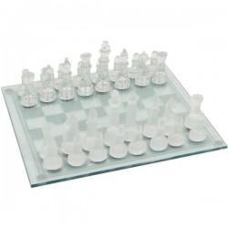 Veľké sklenené šachy