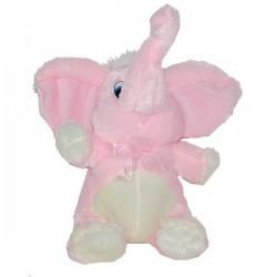 Valentínsky plyšový sloník