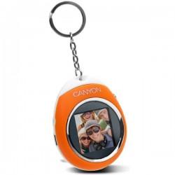 Kľúčenka s LCD displejom oranžová