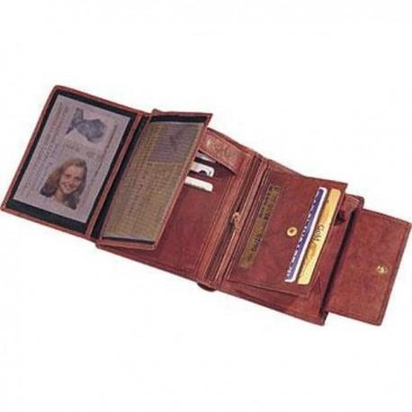 Pánska peňaženka pravá koža - hnedá