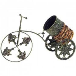 Stojan na víno v tvare bicykla