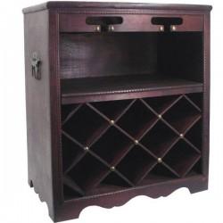 Retro stojan na víno 8 kusov