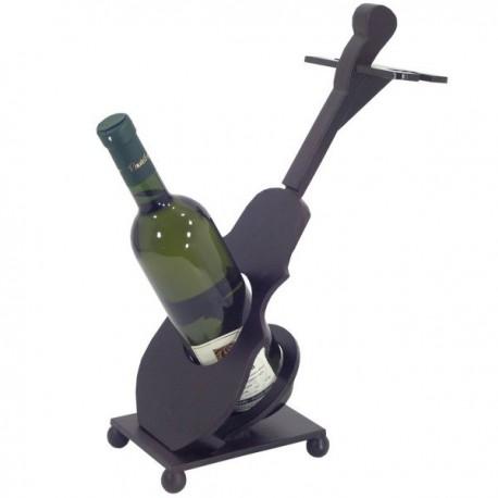 Stojan na víno tvar huslí