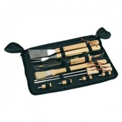 Grilovacie náradie s drevenými rúčkami