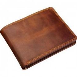 Hnedá kvalitná peňaženka pre chlapa