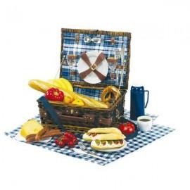 Veľký kôš na piknik pre dve osoby