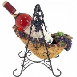 Veľký stojan na víno s hroznom -